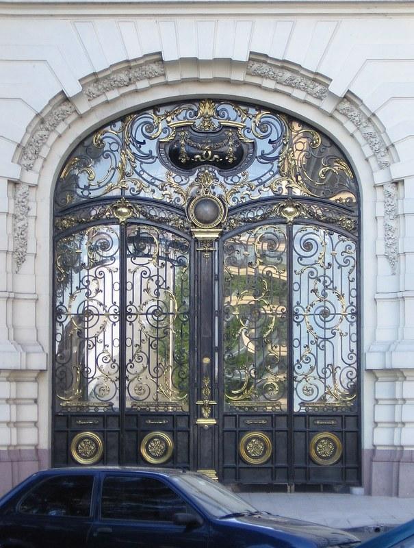 El palacio paz circulo militar for Puertas de aluminio buenos aires